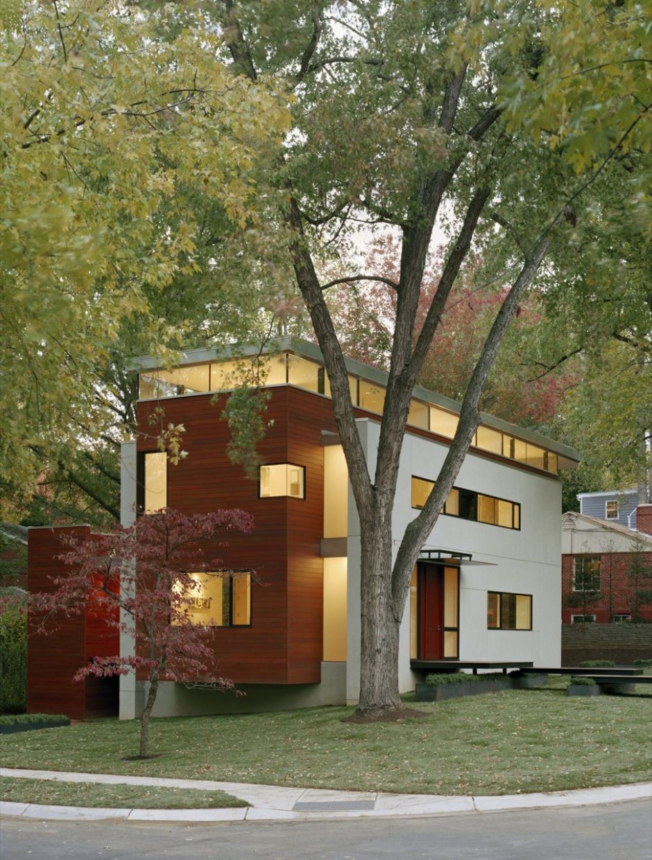 David jameson architect matryoshka house flodeau - The edgemoor residence by david jameson architect ...