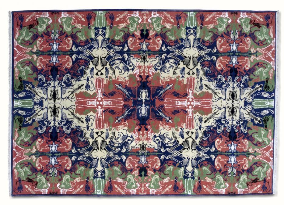 FLODEAU Studio Job - Perished Persian rug