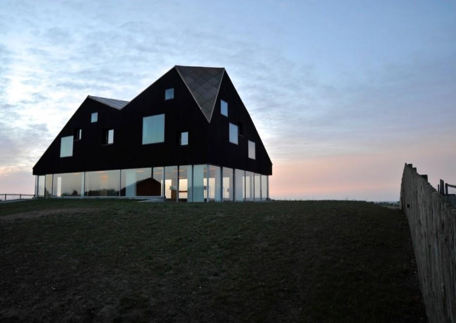 FLODEAU.COM Jarmund:Vigsnæs Arkitekter Dune House 12