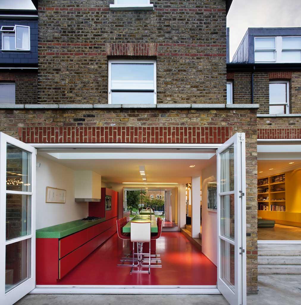 Kitchen Garden London: Andy Martin Studio : Chevron House