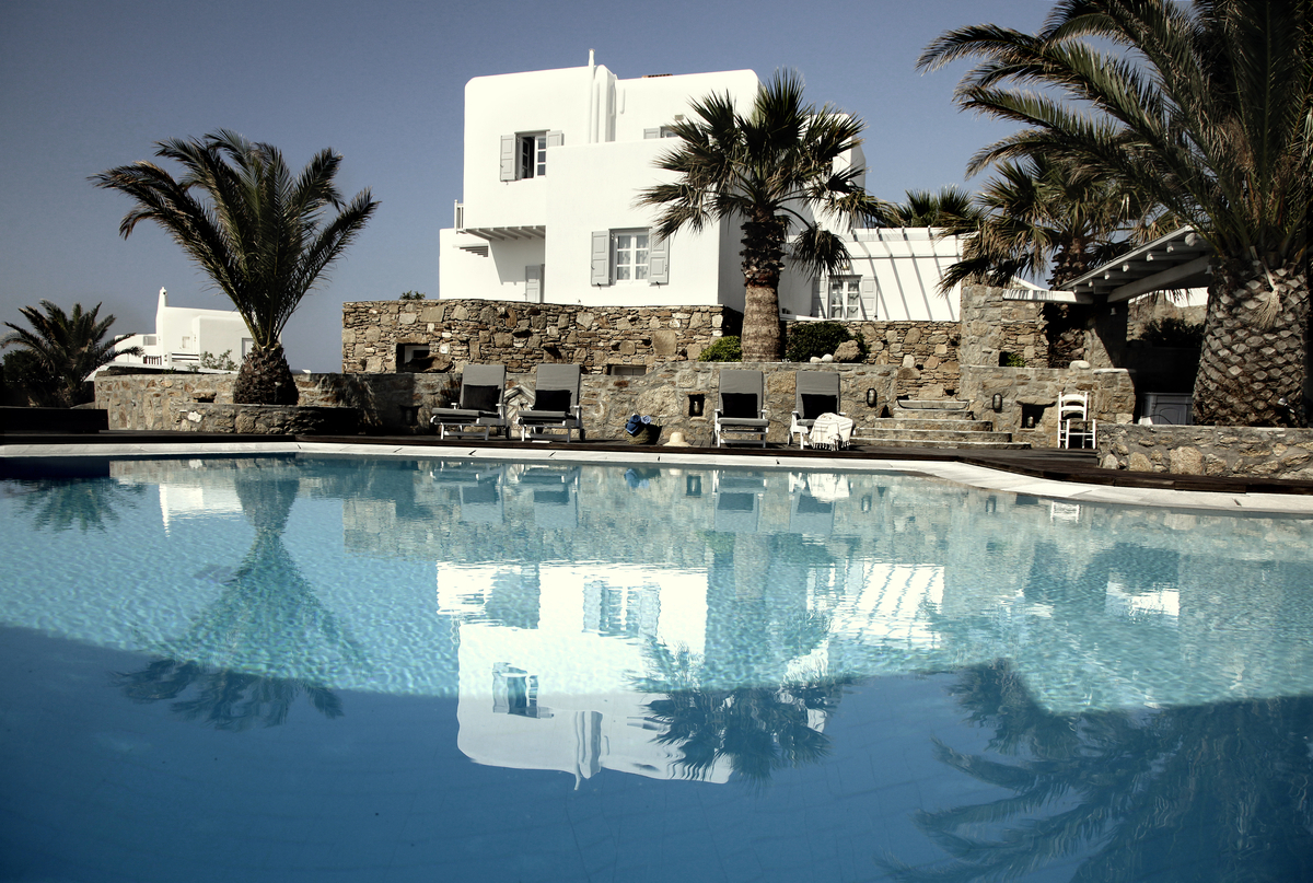 san giorgio hotel in mykonos flodeau. Black Bedroom Furniture Sets. Home Design Ideas