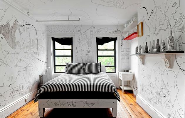 Shantell Martin A room with some fine lines flodeau.com 4