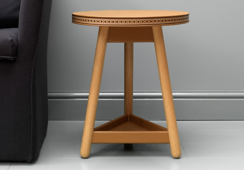 G&T by Bethan Gray -Brogue Side Table on flodeau.com 2