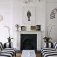 HOME TOUR : Harriet Anstruther's bright and modern 1840s London town house