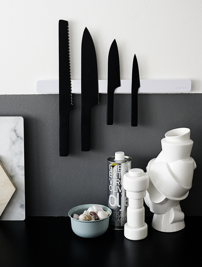 Stelton Pure Black Knife Set