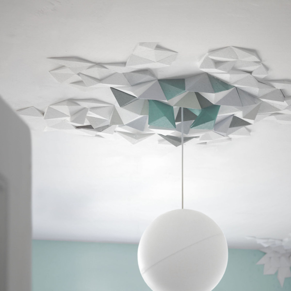 Rhombus Ceiling Tiles by The Fundamental Group - flodeau.com - 02