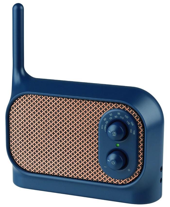 Mezzo radio by Ionna Vautrin for Lexon - flodeau.com