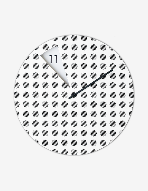 FreakishCLOCK wall clock by Sabrina Fossi - flodeau.com 04