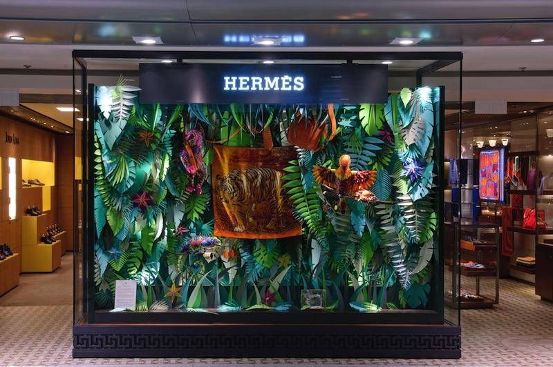 The Eternal Jungle by ZimZou for Hermes - flodeau.com 01