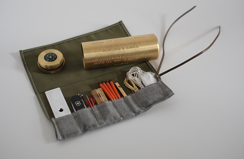 Life is Precious survival kit by Fort Standard - Flodeau.com 08