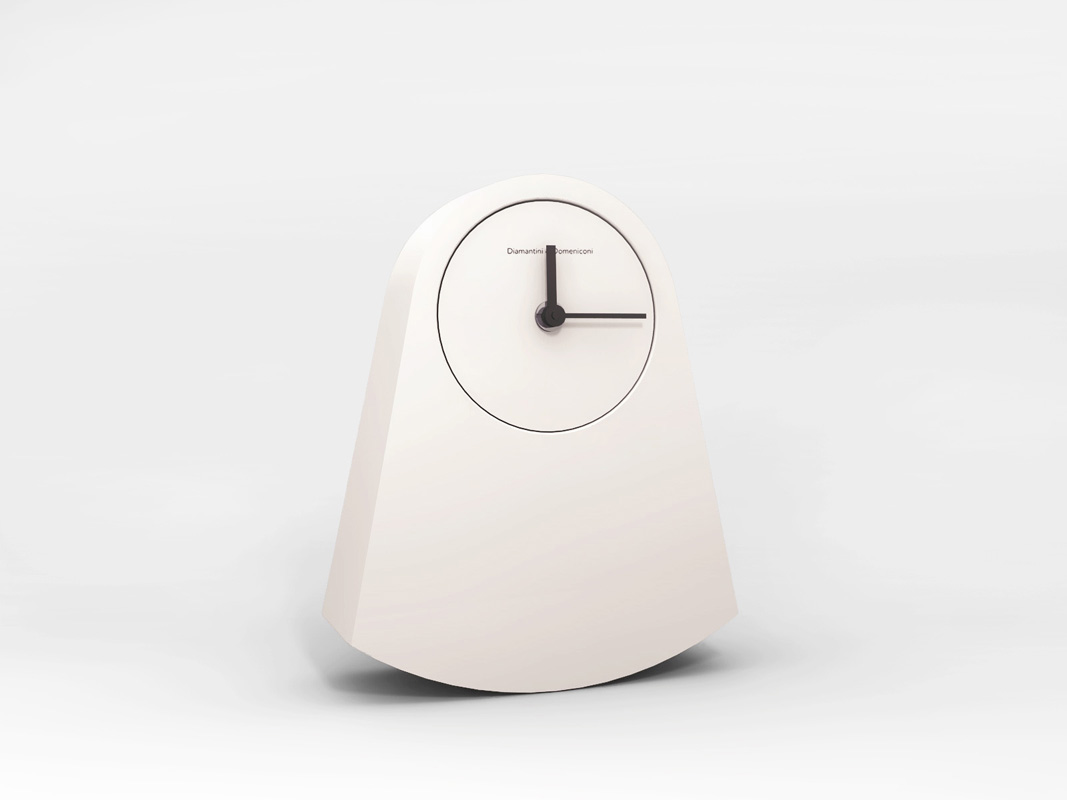 Ipno Clock by Alessandro Zambelli for Diamantini  Domeniconi - on flodeau.com 01