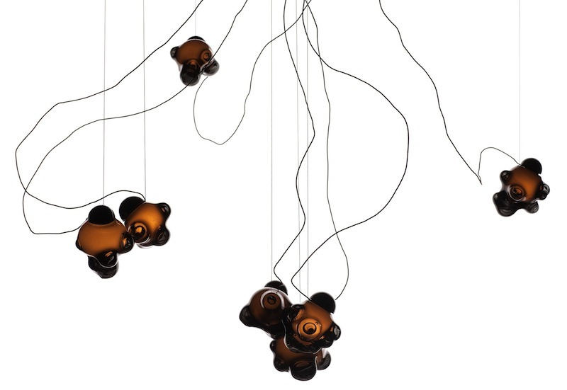 57 pendant lights by Omer Arbel for Bocci