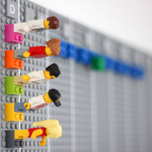 The Lego Calendar by Vitamins Design