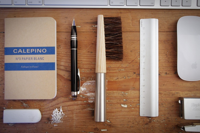 Pukka Office Brush by Amaury Poudray X Andrée Jardin :: Flodeau.com - 02