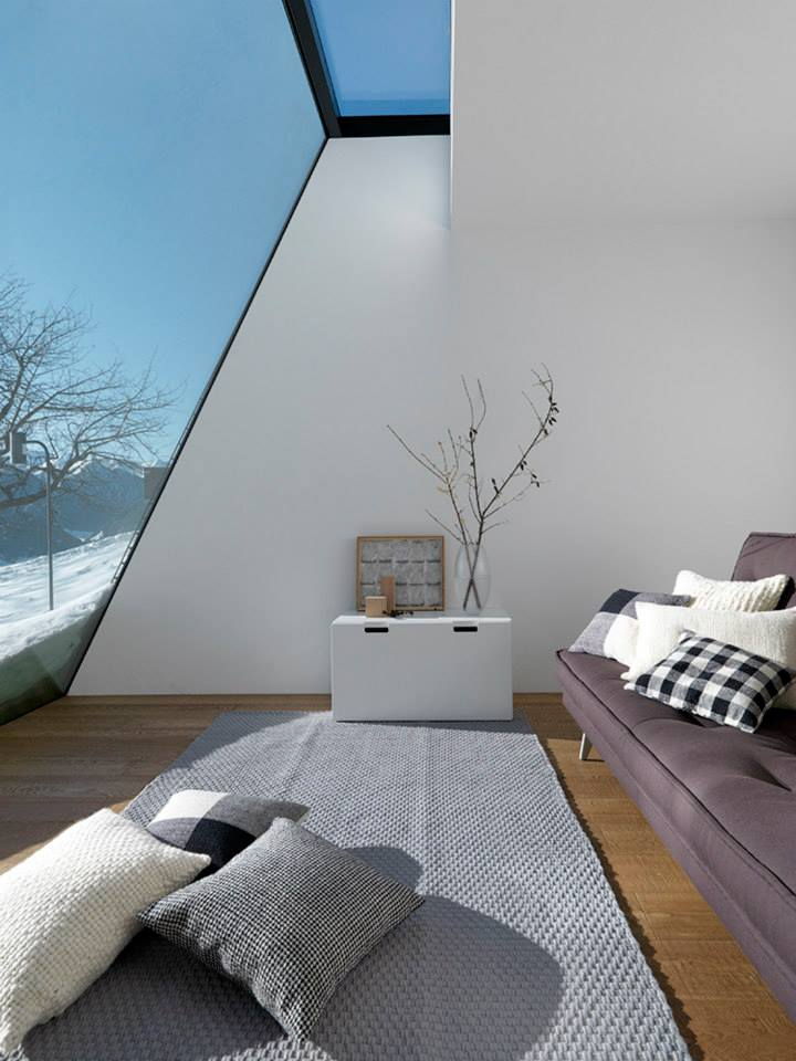 'Room With A View' house in Italy's South Tyrol