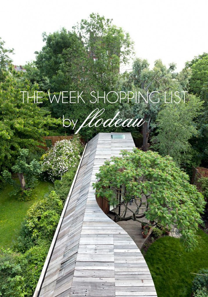 The week shopping list by flodeau