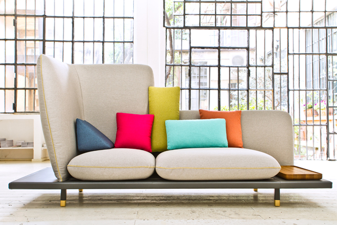 Sofa4manhattan by  Lera Moiseeva, Joe Graceffa & Luca Nichetto, for Italian manufacturer Berto