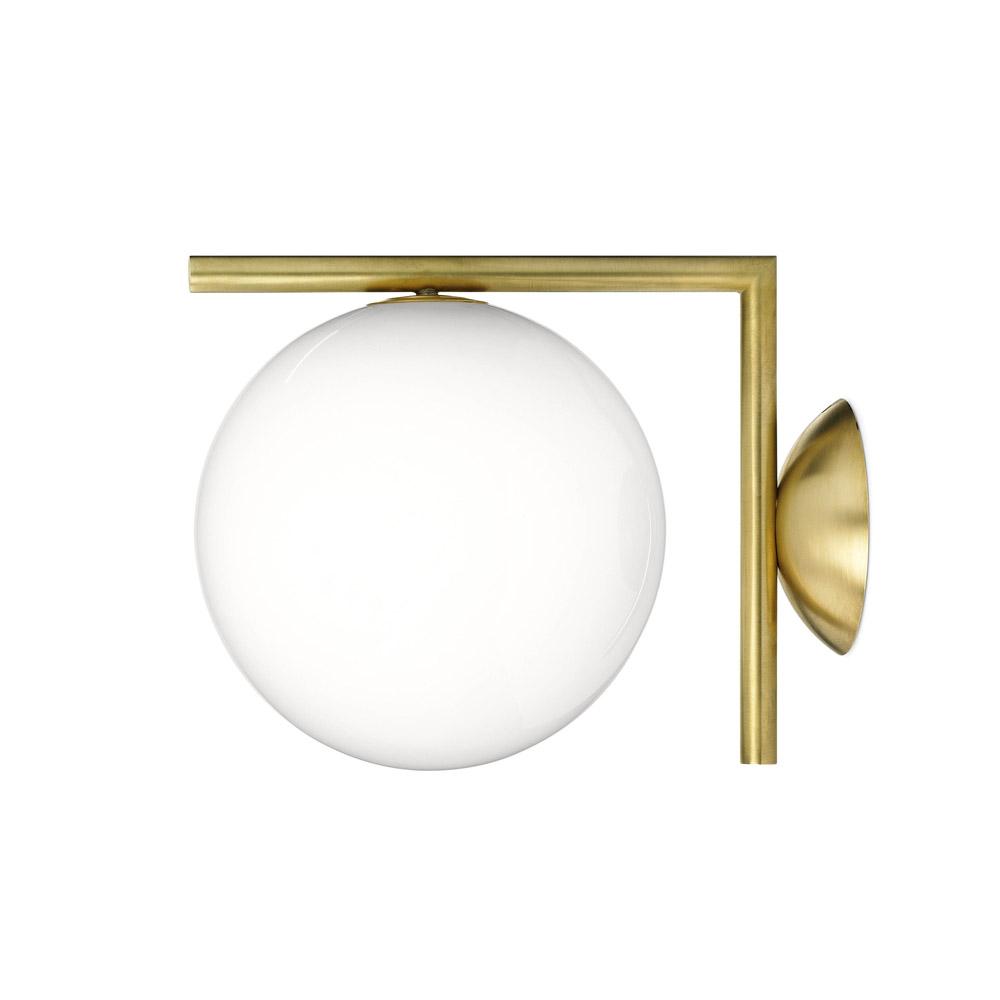 Michael anastassiades for flos ic lights flodeau for Applique salle de bain globe