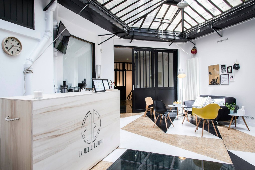 La Belle Équipe Thai boxing hall in Paris by Spray Architecture | Flodeau.com