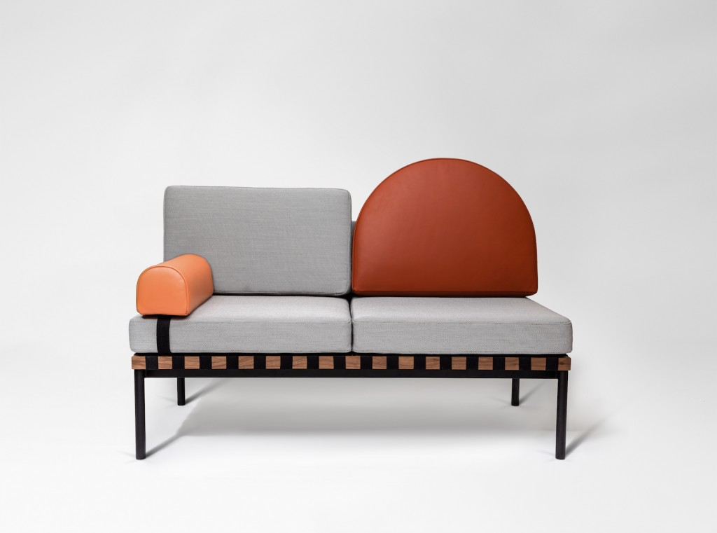 Grid sofa/daybed by POOL for Petite Friture | Flodeau.com #MDW2015