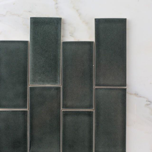 Fire Clay Tile : Fireclay tile handmade recycled tiles flodeau