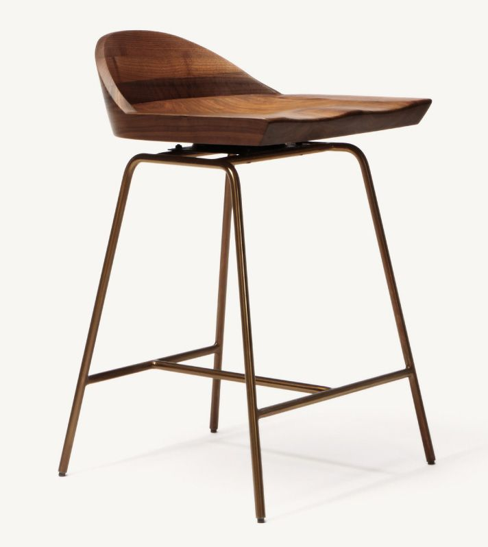 BassamFellows : Spindle Chair and Stool – Flodeau