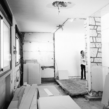 Apartment G, Royan, France - Work in Progress © Florence Deau