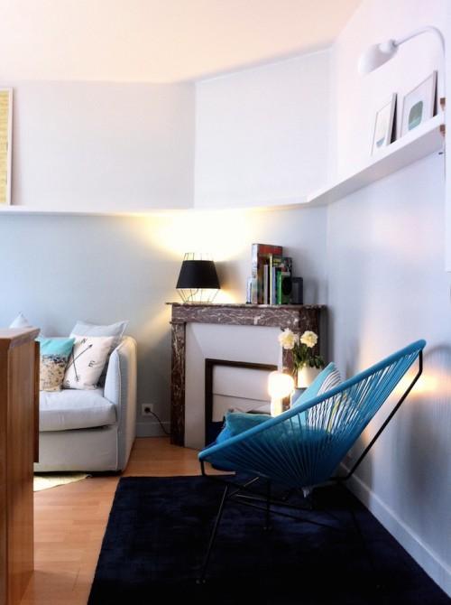 Apartment P, Paris, France © Florence Deau