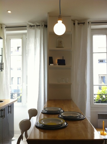 Apartment P, Paris, France © Florence Deau