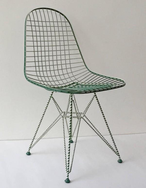 Vitra X La Source : Wire Chair Auction Sale | Flodeau.com