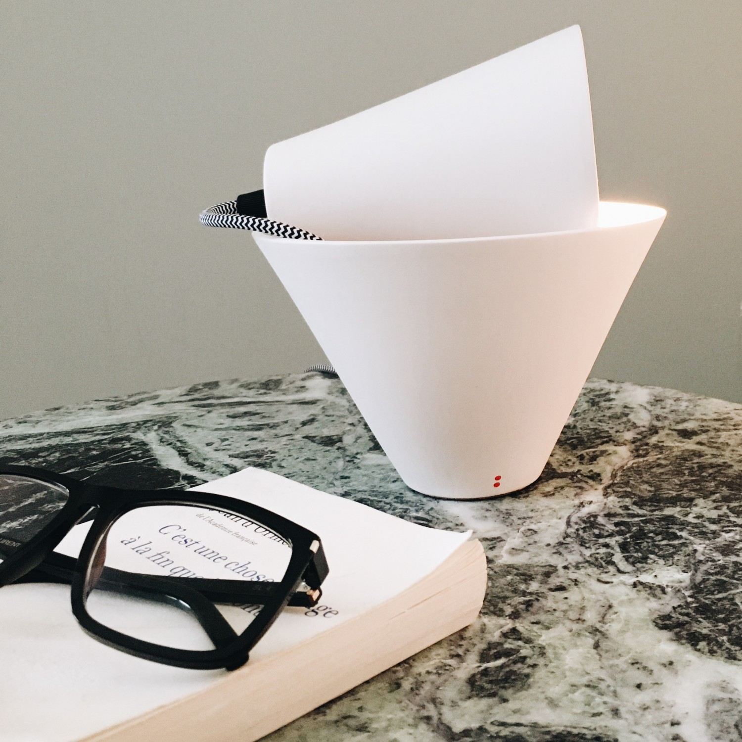{At Home} Mia Table Lamp by Federica Bubani for Fabbian | Flodeau.com