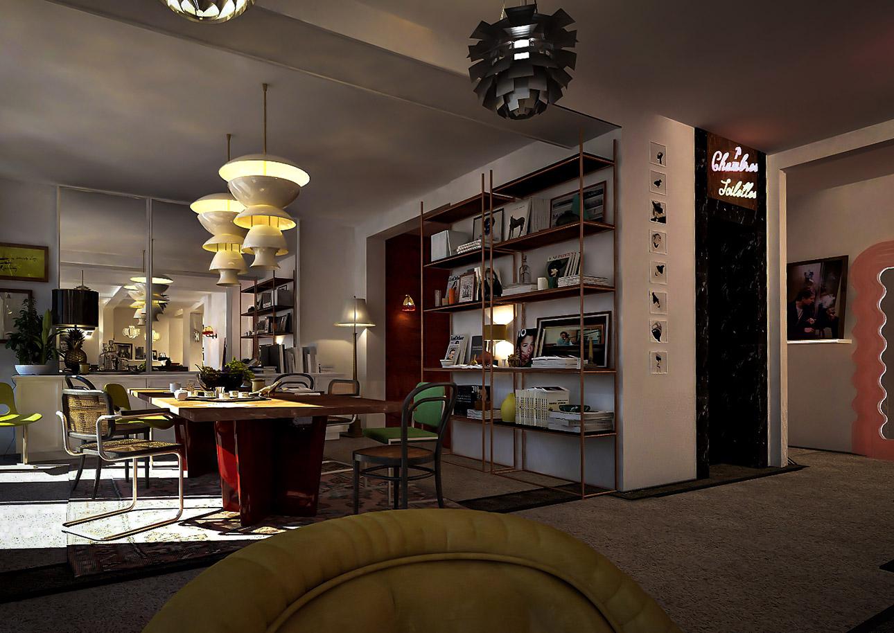 Le Pigalle Hotel, Paris | Flodeau.com