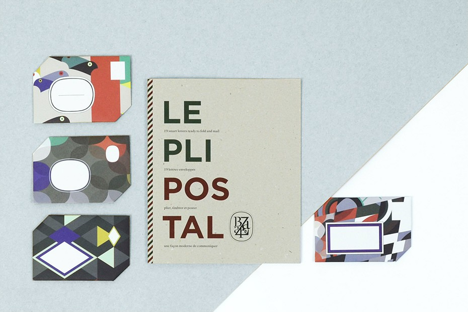 Pli Postal collection by Papier Tigre X Diptyque | Flodeau.com