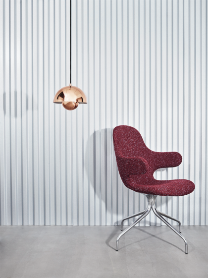 Catch Chair by Jaime Hayon and Flowerpot pendant by Verner Panton