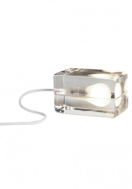 White Block Lamp by Harri Koskinen for Design House Stockholm