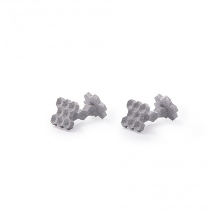 Hexa Alumide Cufflinks by ANGULAR