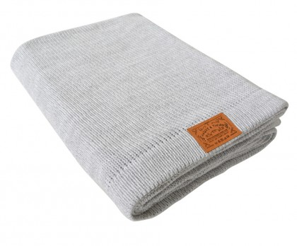 Parker handwoven cotton throw by Hawke & Thorn