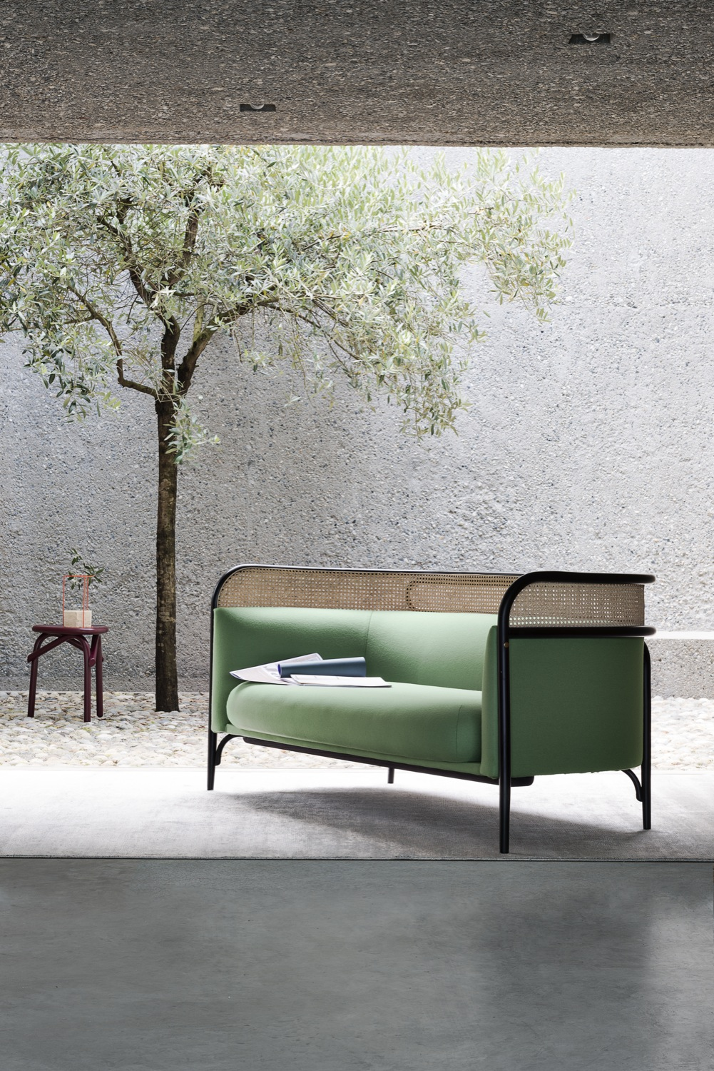 Targa sofa By GamFratesi for Gebrüder Thonet Vienna | Flodeau.com