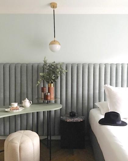 Hotel Room Desk: &Tradition's Palette Desk Styled At Hôtel Bachaumont