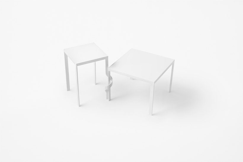 Tangle table by Nendo for Cappellini | Flodeau.com