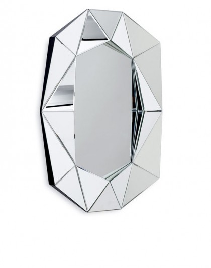 Diamond mirror by Reflections by Hugau / Larsson
