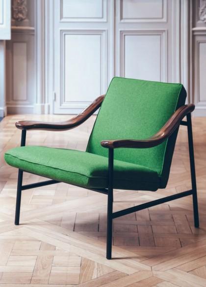 H. Russell armchair by Studio Brichet-Ziegler