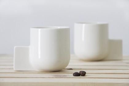Ceramic espresso cup by ONEandMANY | Flodeau.com