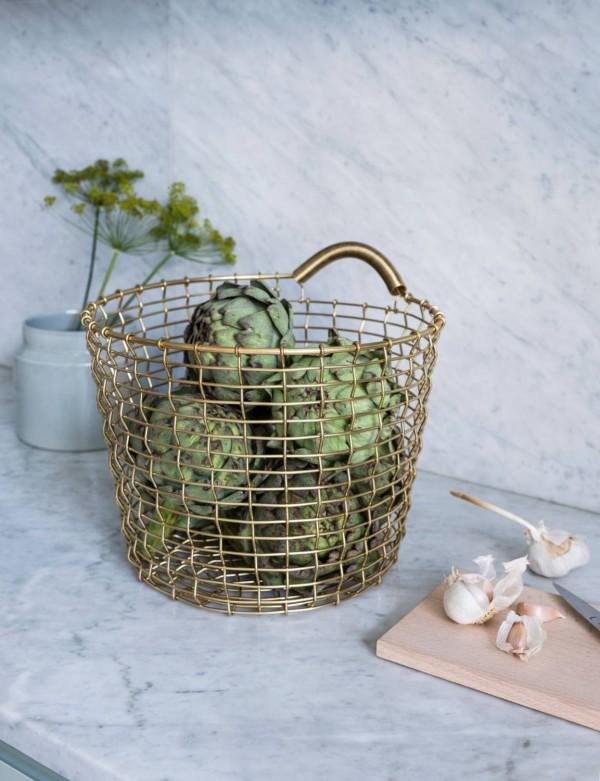 Korbo handwoven wire baskets | Flodeau.com