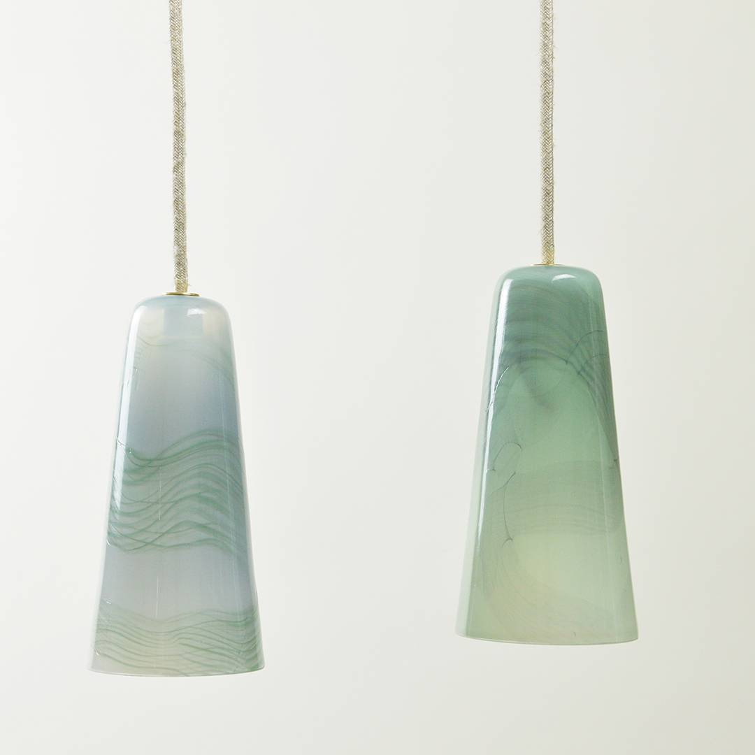 Moiré glass blown collection by Atelier George | Flodeau.com
