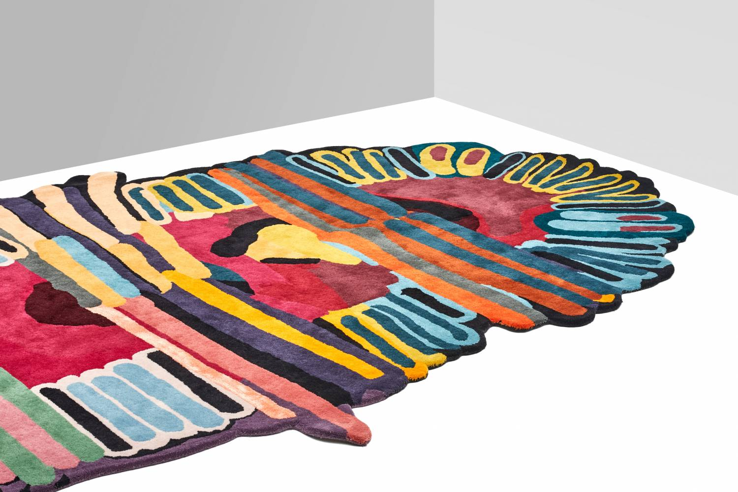 Tufty rug by Laureline Galliot | Flodeau.com