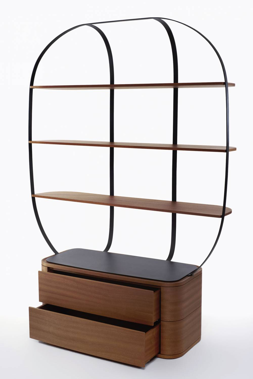 Klec cabinet by Piergil Fourquié for Monolithe Edition | Flodeau.com
