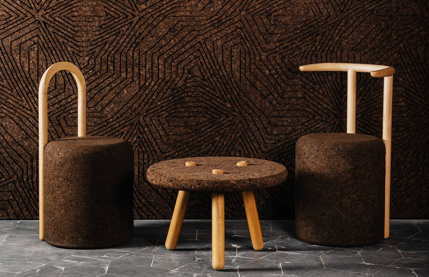 Cork covering solutions and furniture by Gencork - Flodeau.com