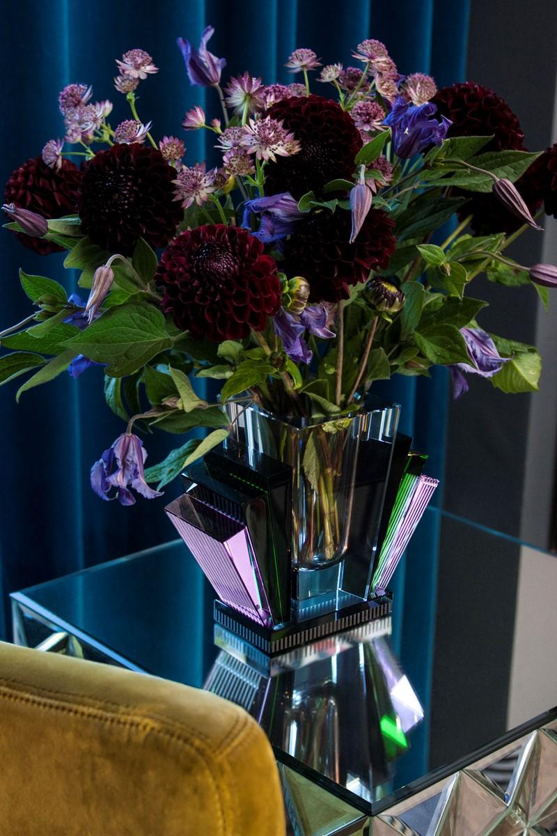 Harlem crystal vase by Reflections Copenhagen | Flodeau.com